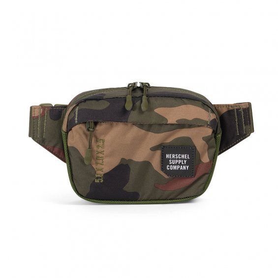 Herschel Supply Tour Hip Pack Small, Woodland Camo