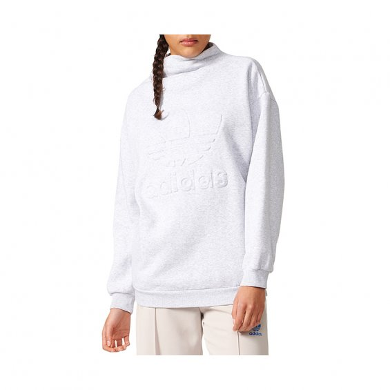 Adidas W Sweatshirt, Light Grey Heather