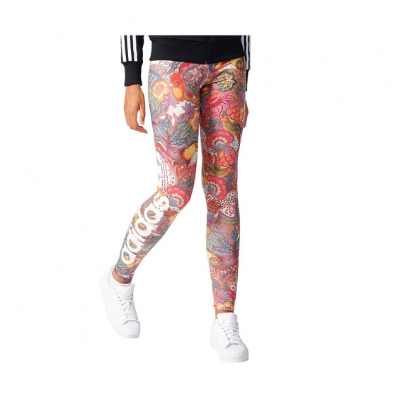 Adidas W Fugiprabali Linear Leggings, Multi