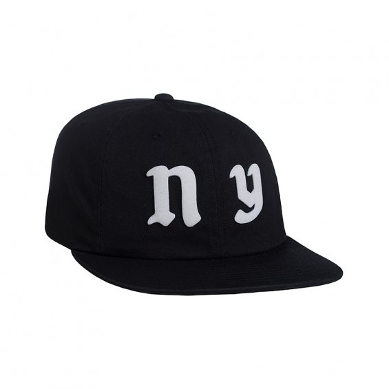 HUF Cities 6-Panel, Black