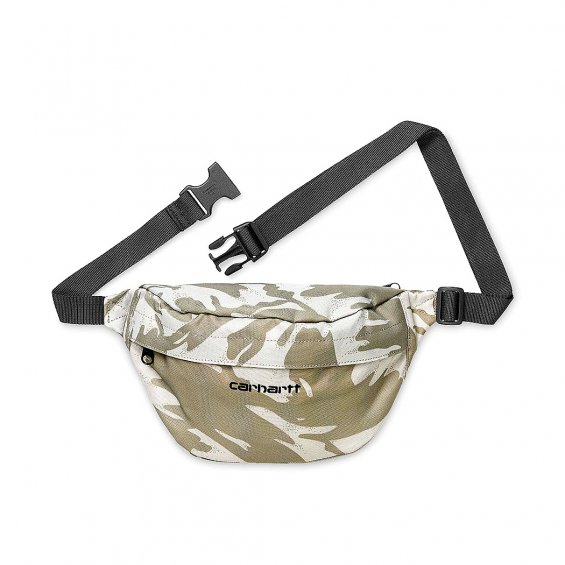 Carhartt Payton Hip Bag, Camo Brush Sandshell Black