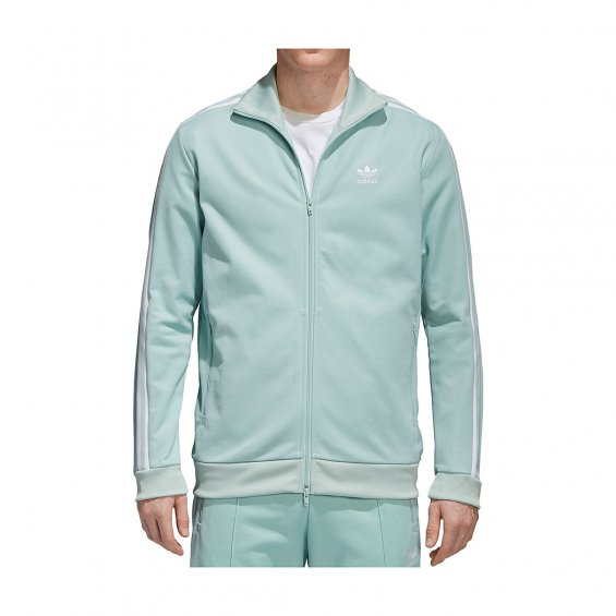 Adidas Originals Beckenbauer Track Jacket, Ash Green