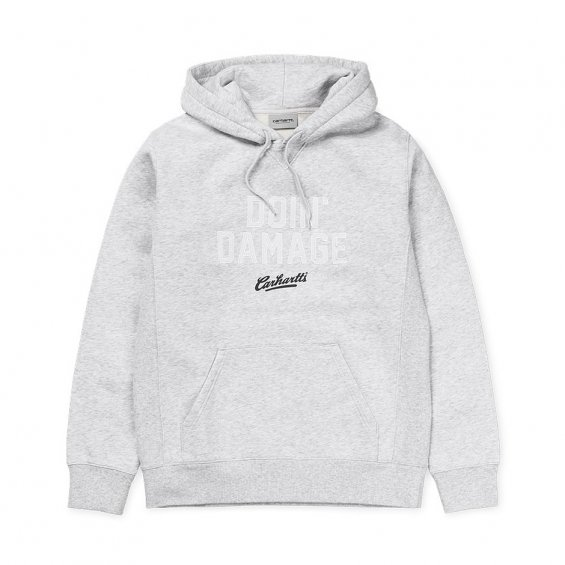 Carhartt Hooded Doin Damage Sweat, Ash