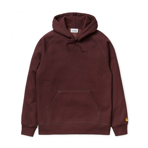Carhartt Hooded Chase Sweat, Damson Gold