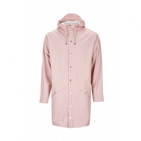Rains Long Jacket, Rose
