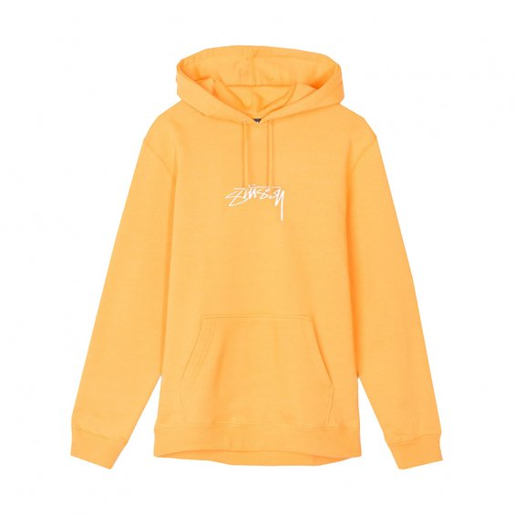 Stussy Smooth Stock App Hood, Apricot