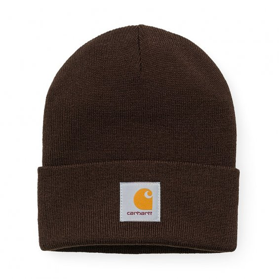 Carhartt Short Watch Hat, Tobacco