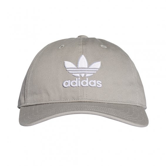 Adidas Originals Trefoil Cap, Grey White