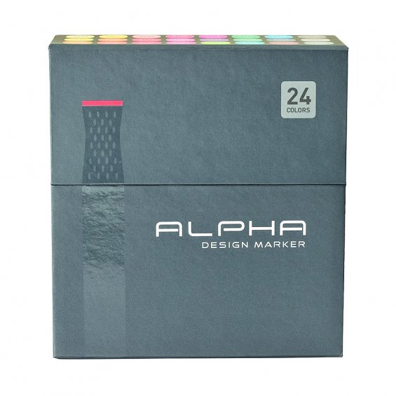 Alpha Design Marker 24set