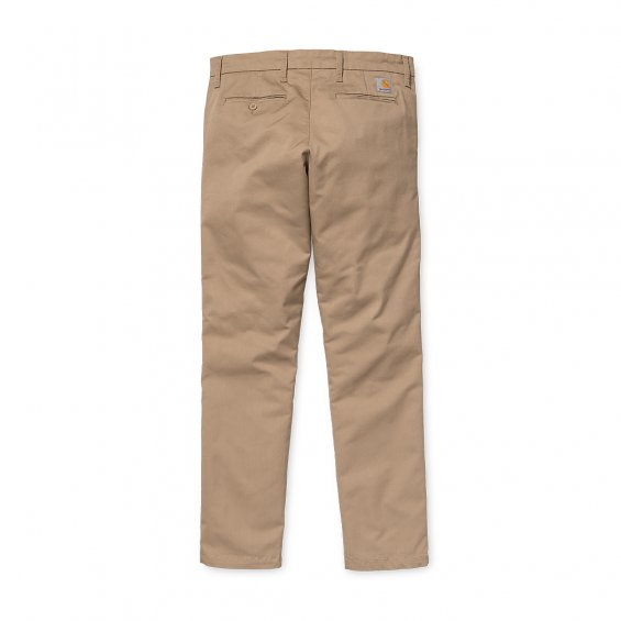 Carhartt Sid Pant Lamar, Leather Rinsed