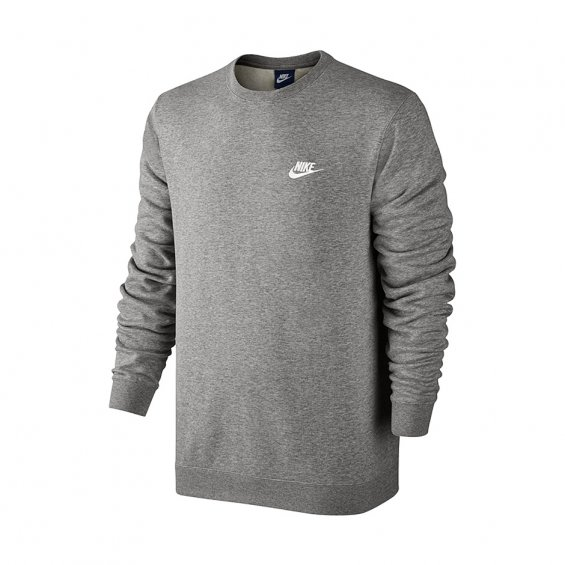 Nike Sportswear Crew, Dark Grey Heather