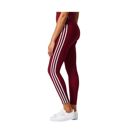 8eedabcd975 Adidas Originals W 3-Stripes Leggings, Burgundy | Highlights