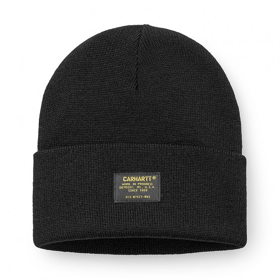 Carhartt Military Beanie, Black