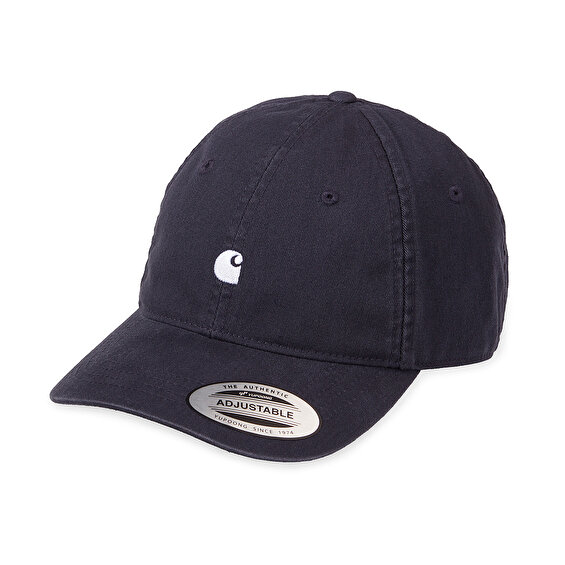 Carhartt Madison Logo Cap, Dark NavyWax