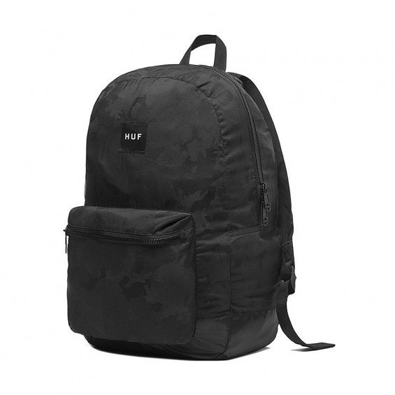 HUF Packable Backpack, Black
