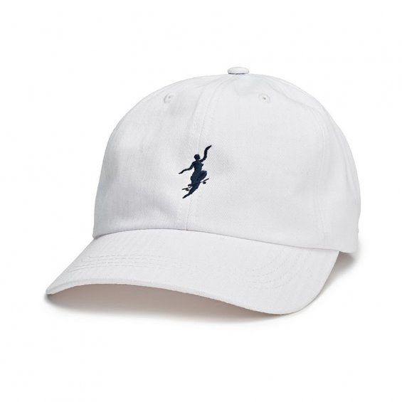 Polar Skate No Comply Cap, White