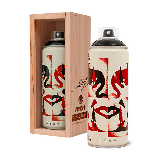 MTN limited edition 400ml, Obey Cut It Up