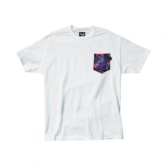 The Quiet Life Satin Cloud Pocket Tee, White