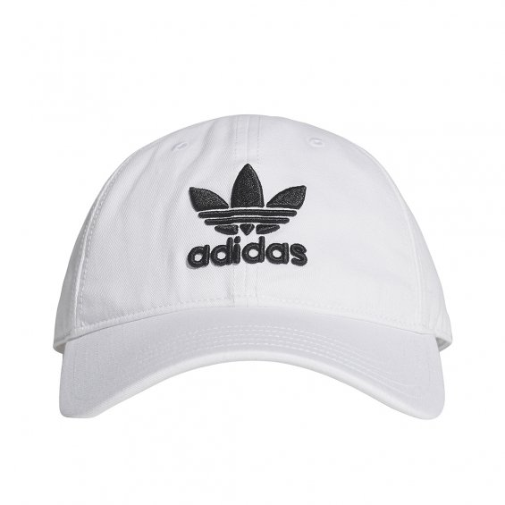 Adidas Originals Trefoil Cap, White Black