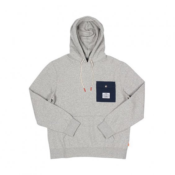 Poler Stuff Bagit Hoodie 2, Gray Heather