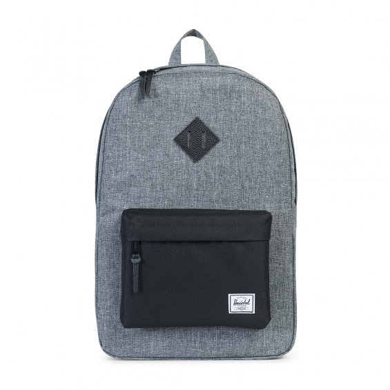 Herschel Supply Heritage Backpack, Raven Cross H Black