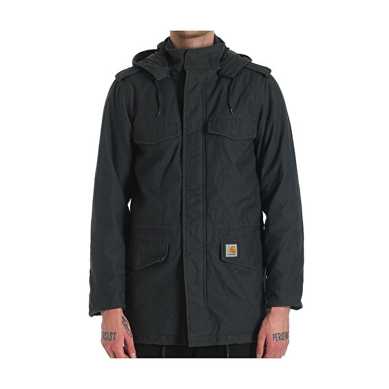 Carhartt Hickman Coat, Eclipse Fabric Washed