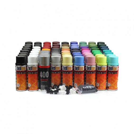 Molotow Premium Colour Pack 72 cans, Set B