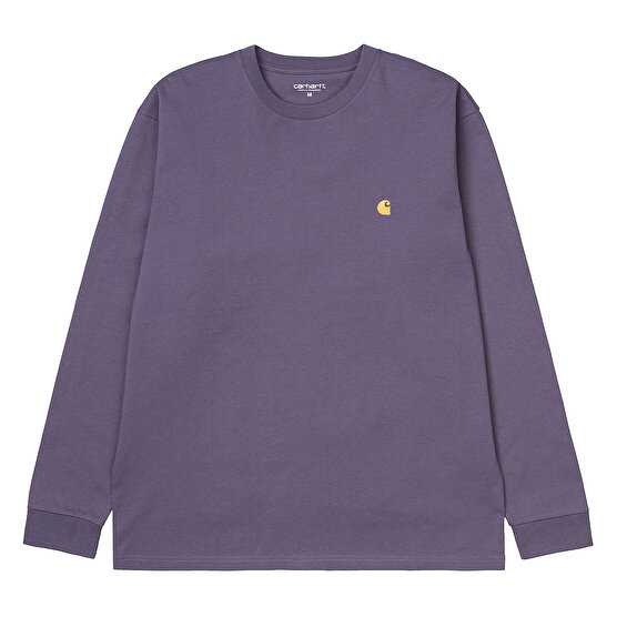 Carhartt L/S Chase T-shirt, Provance/Gold