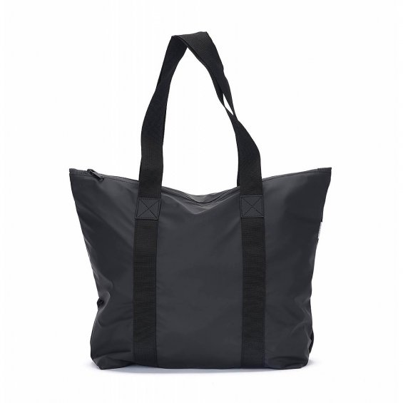 Rains Tote Bag Rush, Black