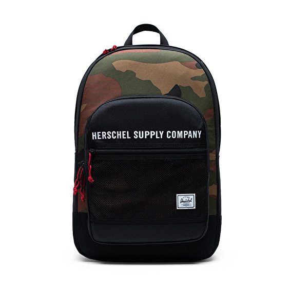 Herschel Supply Kaine, Black/Woodland Camo