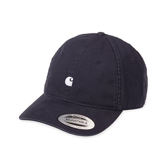 Carhartt Madison Logo Cap, Dark Navy White