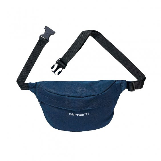 Carhartt Payton Hip Bag, Blue White