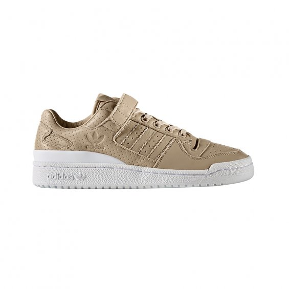 nouveau style cf15a 22867 Adidas Originals W Forum Low Shoes, Beige