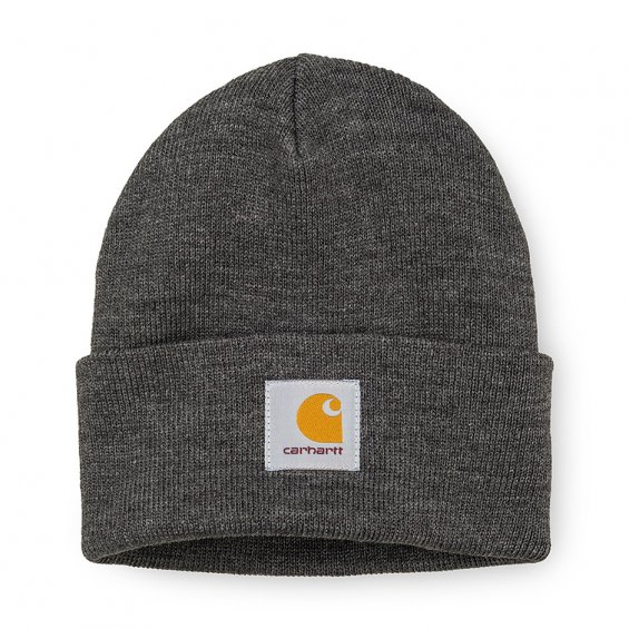 Carhartt Short Watch Hat, Dark Heather Grey