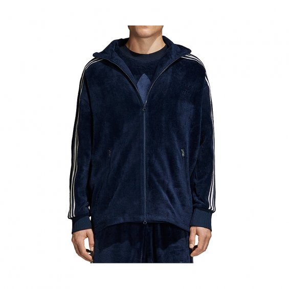 outlet store eeb8e b5cf4 Adidas Originals Velour BB Track Jacket, Conavy  Highlights