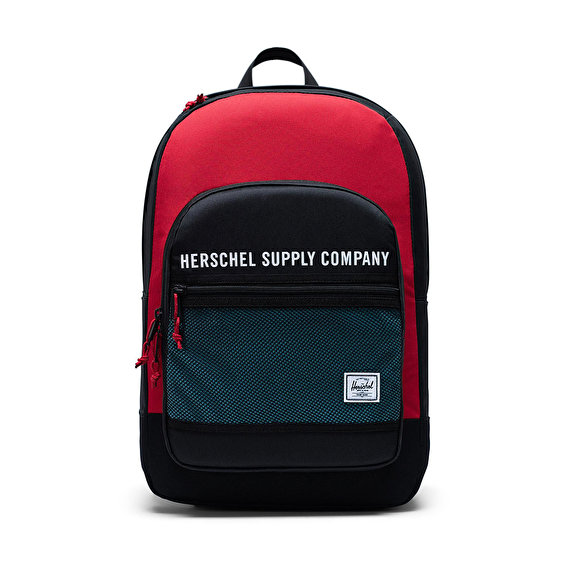 Herschel Supply Kaine, Blk/Red/Bachelor Button