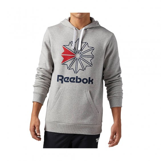 Reebok Classics F Star Hoody, M Grey Heather