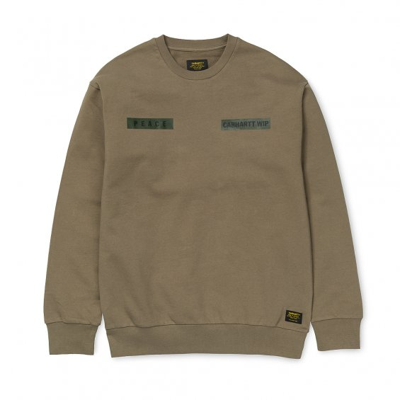 Carhartt Peace Sweat, Tundra Multi