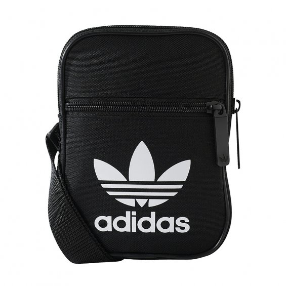 Adidas Originals Trefoil Festival Bag 2018, Black White
