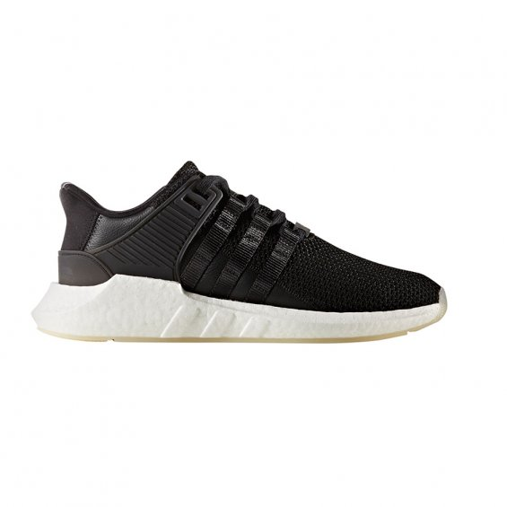 Adidas EQT Support 93/17 Shoes, Black Wht Gum