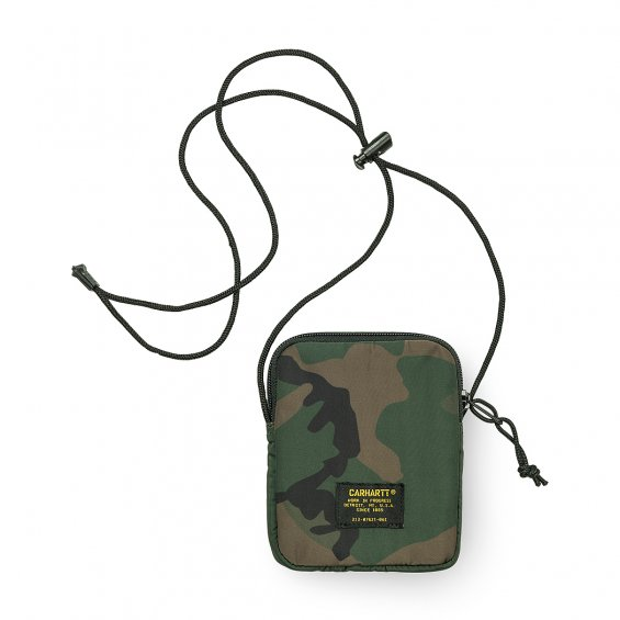 Carhartt Military Neck Wallet, Camo Combat Green