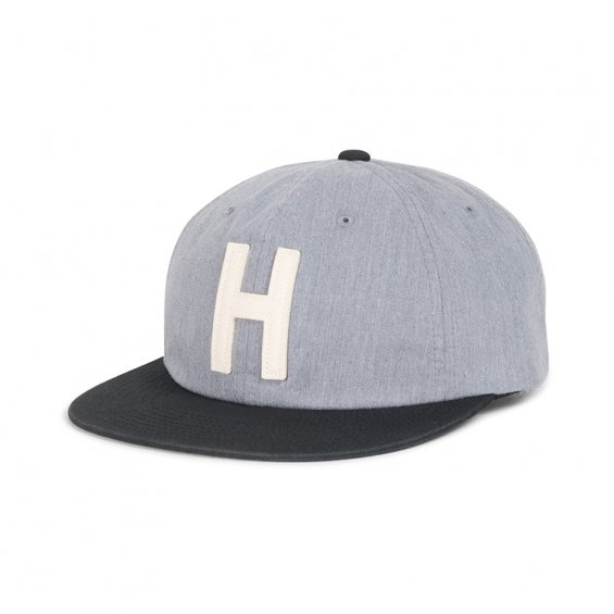 Herschel Supply Harwood Cap, Heathered Grey Black