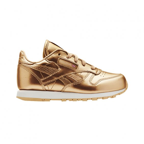 Reebok Inf CL Leather Met, Brass