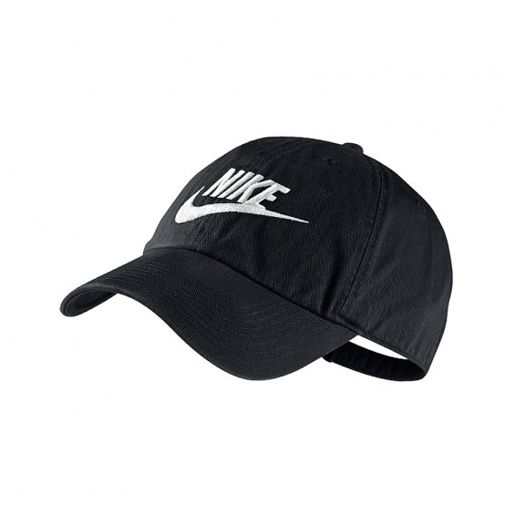 Nike Futura H86 Hat, Black White