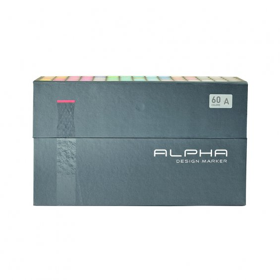 Alpha Design Marker 60set A