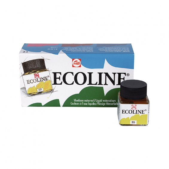 Talens Ecoline Water Color 30ml, Set 8