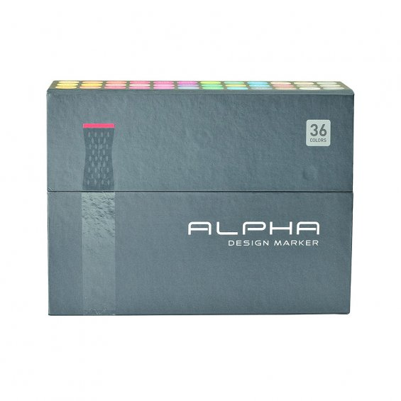 Alpha Design Marker 36set