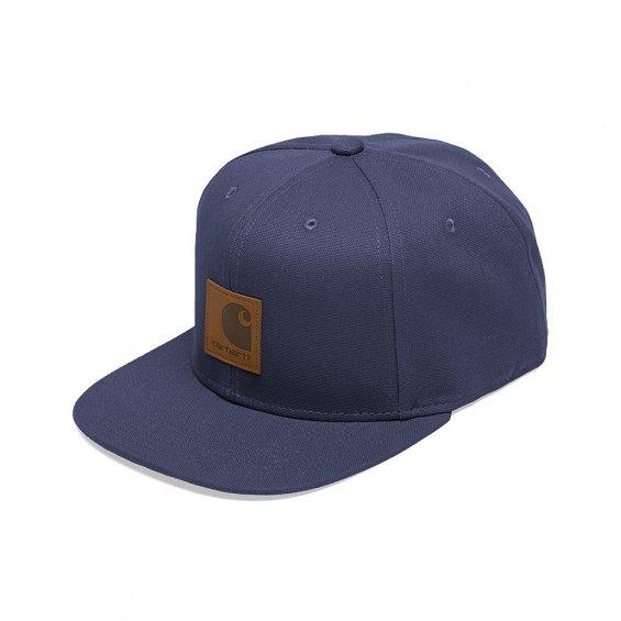 d33f4db7 Carhartt Logo Cap, Stone Blue - Caps - Hlstore.com | Highlights