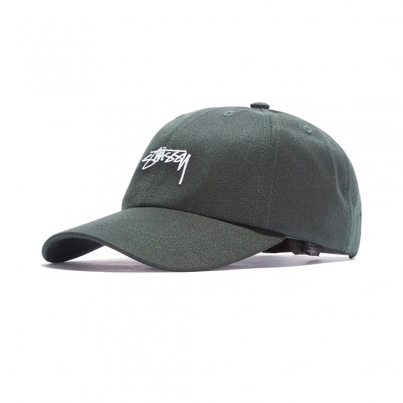 Stussy Suiting Low Pro Cap, Pine