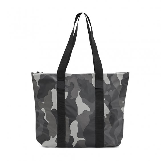 Rains All Over Print Tote Bag Rush, Night Camo